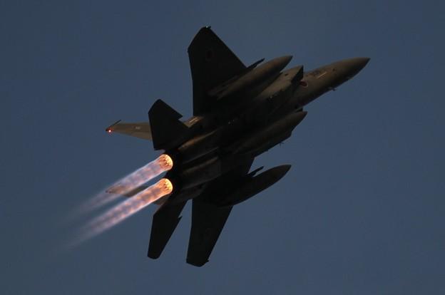 Photos: F-15 夜間訓練