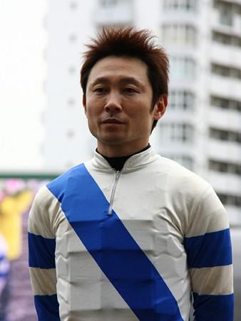 120124佐々木竹見カップ 騎手紹介式 赤岡修次騎手