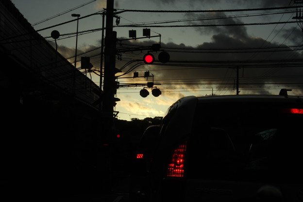 赤色ランプ