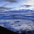 富士山頂からの雲海