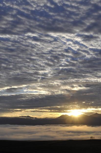 オプタテシケ付近からの日の出(3)