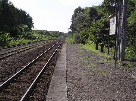 渡島沼尻駅ホーム1