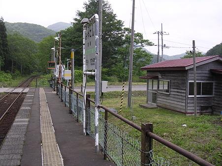 宮越駅ホーム1