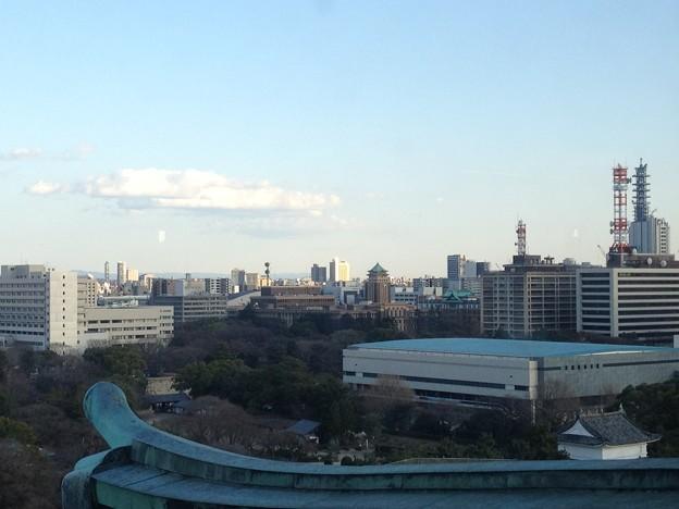 名古屋城:天守閣最上階からの景色_10