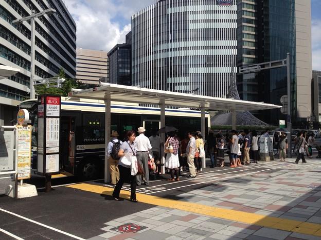 なごや観光ルートバス「メーグル」_02:『名古屋駅』停留所