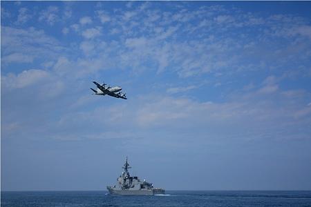 護衛艦とP3C