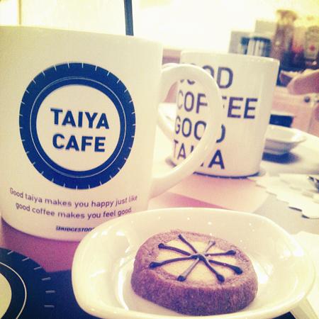 カフェとクッキー@TAIYA CAFE