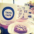 写真: カフェとクッキー@TAIYA CAFE