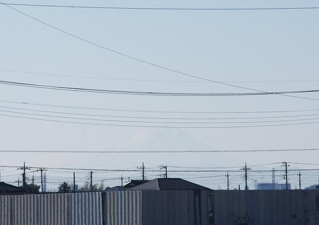 折角の富士山の日なのに・・・