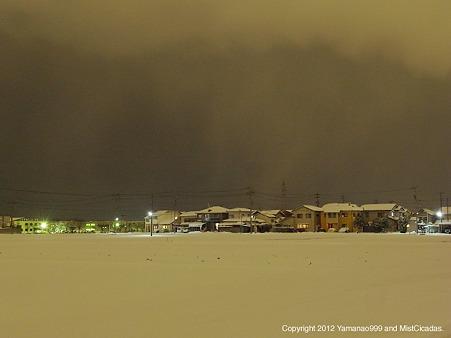 2012年2月2日、石川県白山市