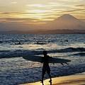 海へ~片瀬西浜