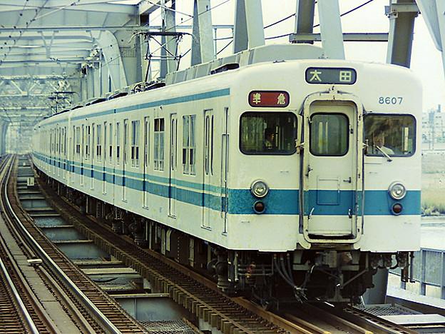東武鉄道 8000型 【準急】太田