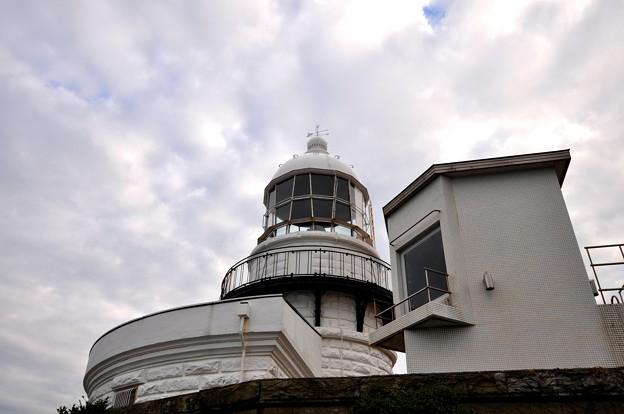 雲の海と美保関灯台