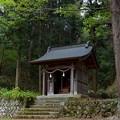 写真: 河口浅間神社・諏訪社