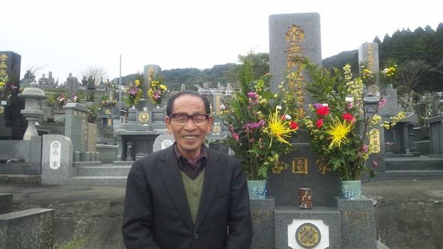 春分の日・墓参り1