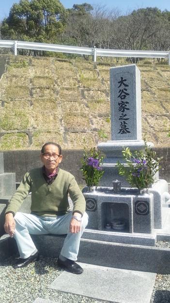 Photos: 母の墓参り3