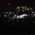 竜ヶ崎駅 夜景