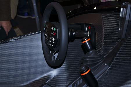 KTM X-BOW Sportcar コックピット