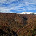 秋と冬・蔵王連峰