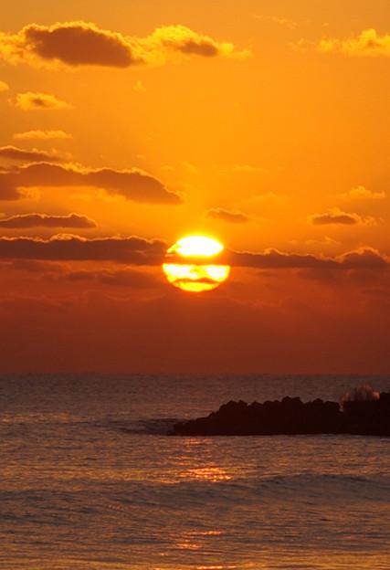 写真: 福島で朝陽を見たい
