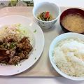 写真: 札幌市建設局下水道庁舎食堂 日替わり(ザンタレ)
