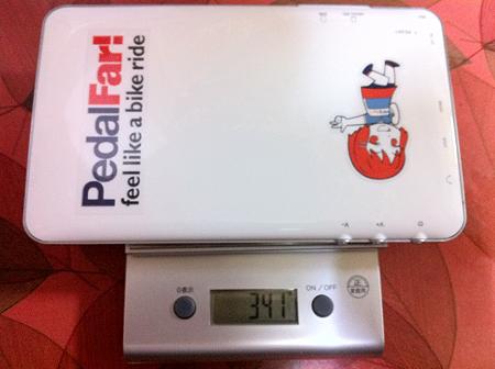 中華PAD重量