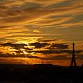 パリの夕焼け