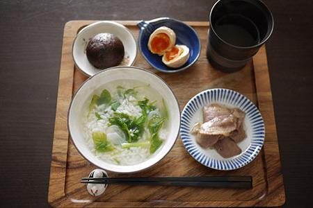 七草雑炊膳