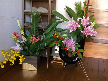 年末年始のお花