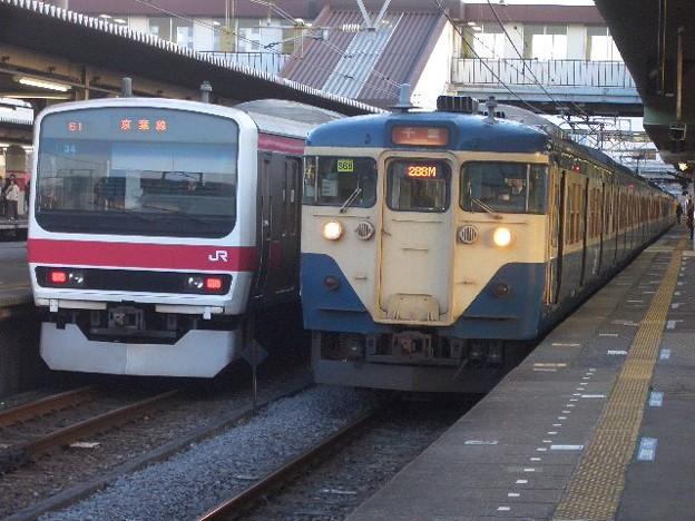 京葉線と外房線 CIMG8371