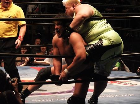 全日本プロレス 後楽園ホール 20110712 (9)