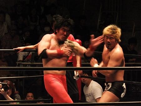 全日本プロレス 後楽園ホール 20110712 (22)