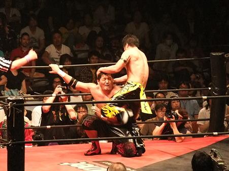 DDT 両国ピーターパン2011 〜二度あることは三度ある〜 KO-D無差別級選手権 石川修司vsKUDO (20)