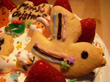 クリスマスケーキ@2011年