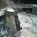 写真: 台風12・15号による道路の陥没5
