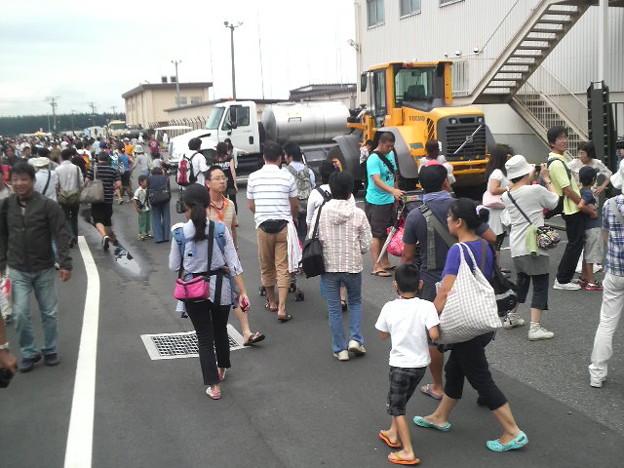 横田祭り だんだんと人が増えてきたのでそろそろ退散!Thanks!