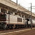 配9153レ EF64 1001+C11 325+旧型客車 3両