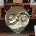 Photos: 陰陽勾玉巴-神紋-於岩稲荷田宮神社 (中央区新川)