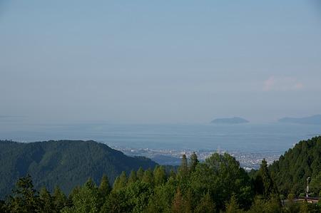 比叡山展望(琵琶湖彦根方面)