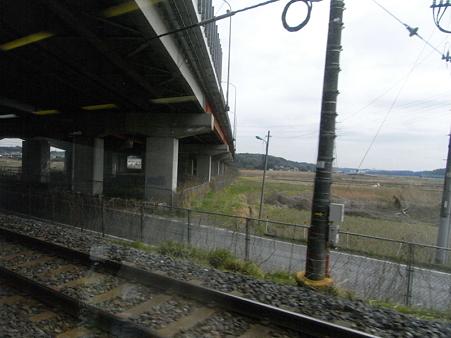 快速エアポート成田の車窓57