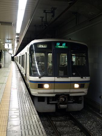 221系(JR難波駅)2