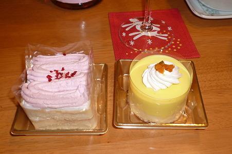 ワンコ用のケーキ(ベリーとカボチャ)