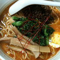 写真: 四川菜飯 卵担々麺