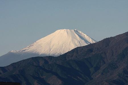 2011.12.04 駅前 富士山