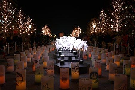 2011.12.29 東京 光都東京 アンビエント・キャンドルパーク