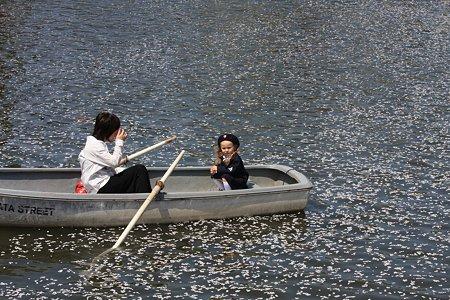 2012.04.12 小田原城 ボート お母さんと入園記念写真