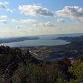 二三月峠より浜名湖