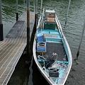 漁師の友達の船