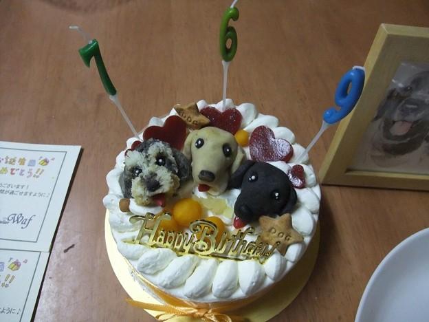 Photos: 似顔絵ケーキ!