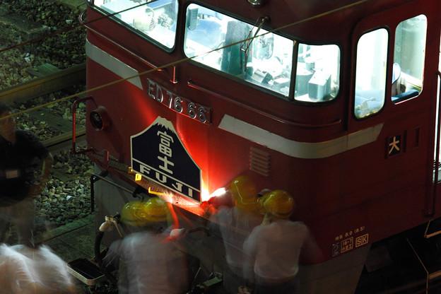 ブルートレイン「富士」復活運行